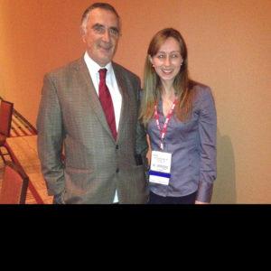 Com Dr. Juan Parodi, precursor da Cirurgia Endovascular, após sua apresentação no Encontro Anual da Sociedade Americana de Cirurgia Vascular (SVS).