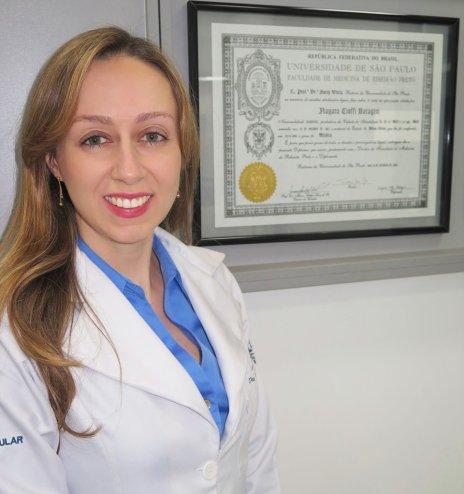 Dra.Nayara Cioffi Batagini - Cirurgiã Vascular e Endovascular