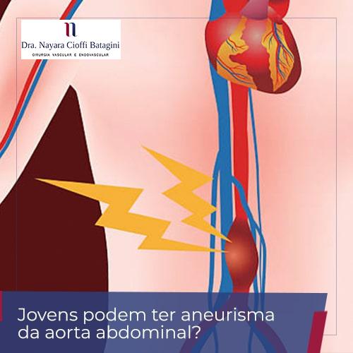 Jovens podem ter aneurisma da aorta abdominal?
