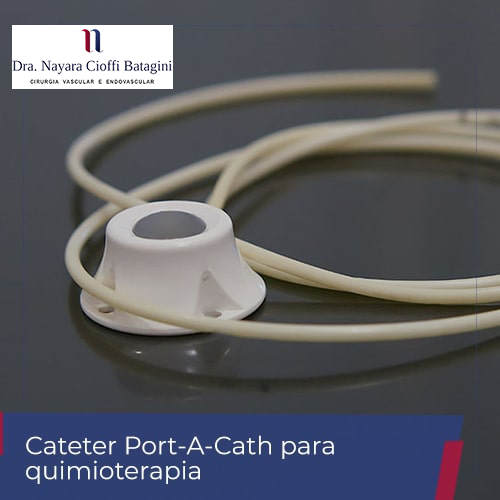 Cateter Port-A-Cath para Quimioterapia